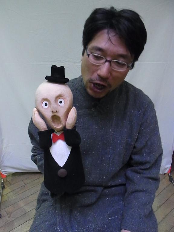 舞台監督で、大道具も叩けて、小道具も作れる私の生みの親、俳優・宮﨑稲穂さんだー