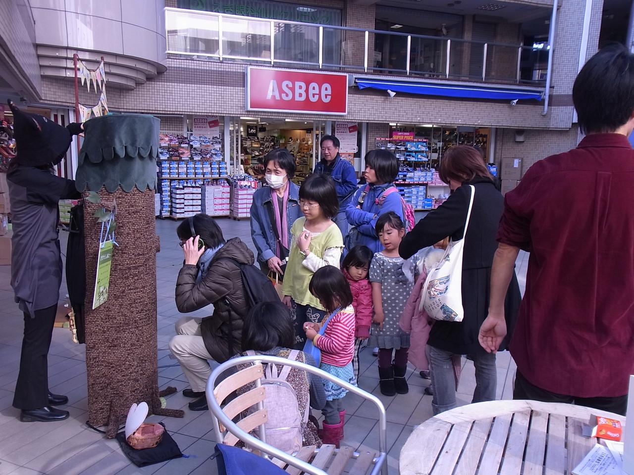 仙川商店街 ぴぽっと中庭