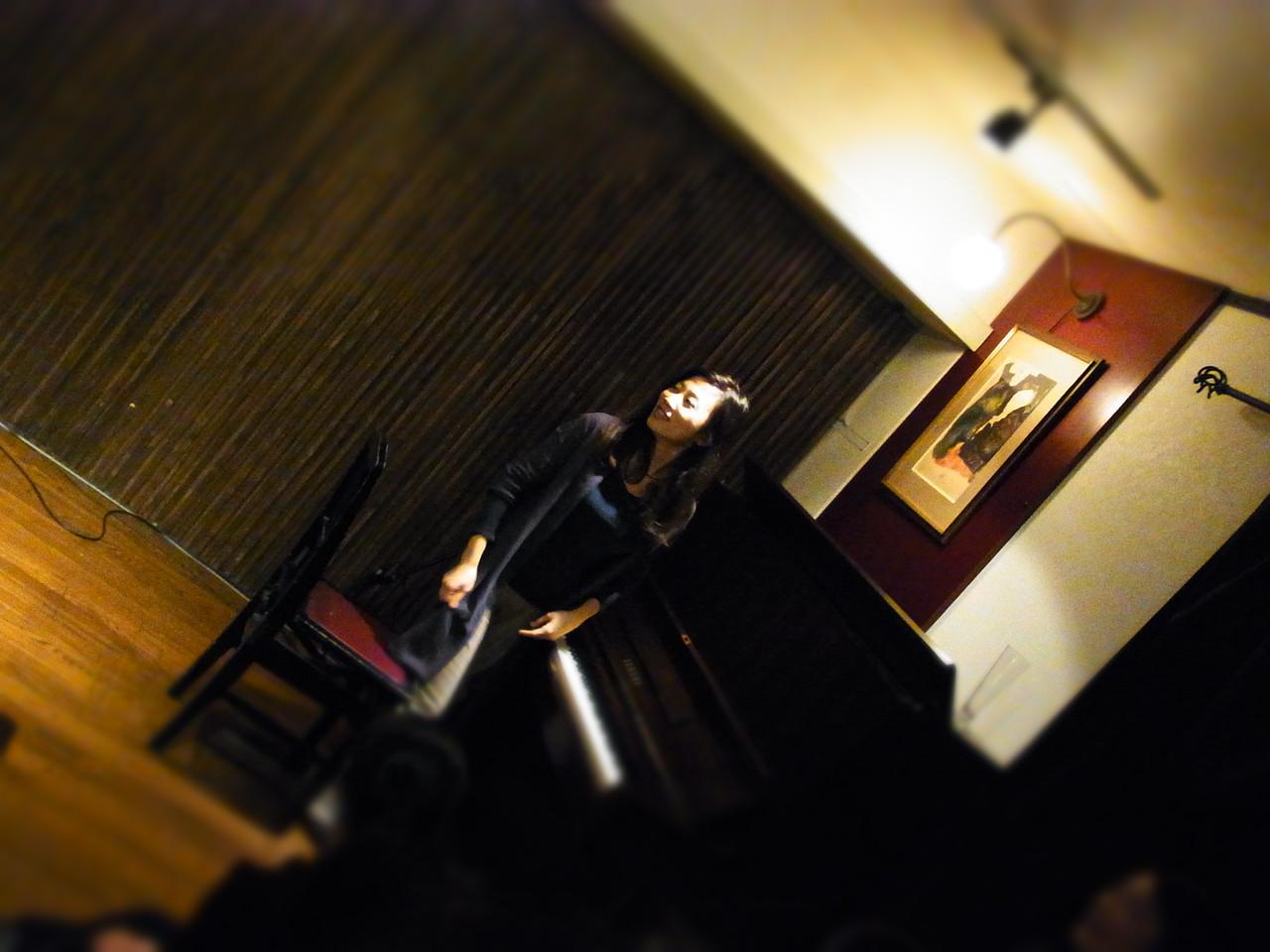 大トリは栗田妙子さんのジャスピアノで。
