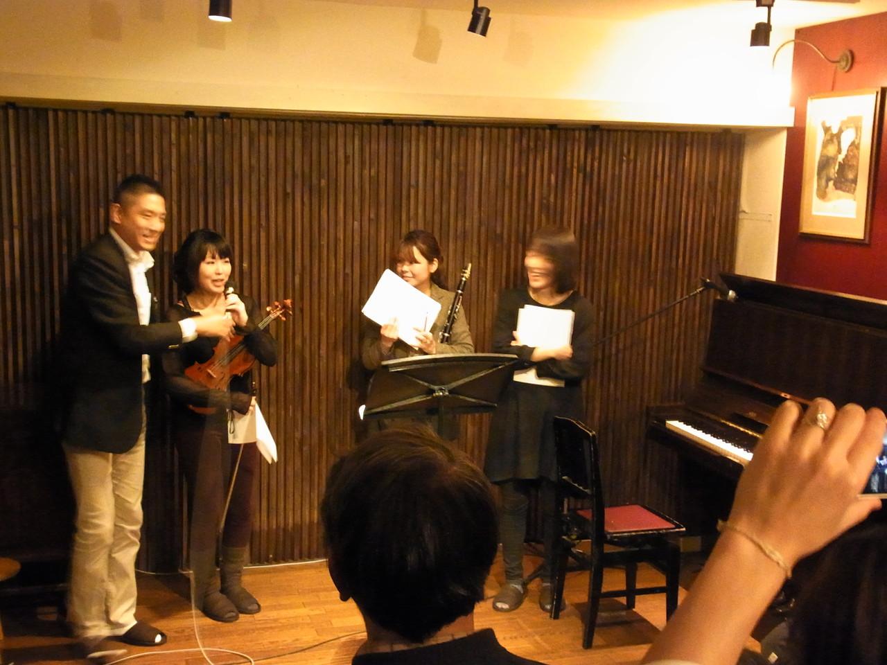 急遽クラりネット&ピアノとコラボ演奏!