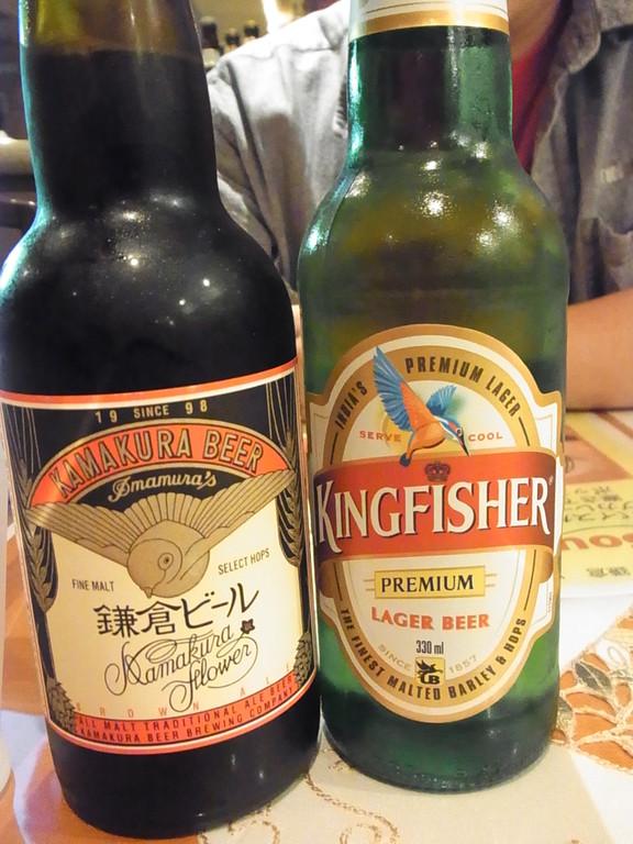 鎌倉ビール&インドビールで乾杯!