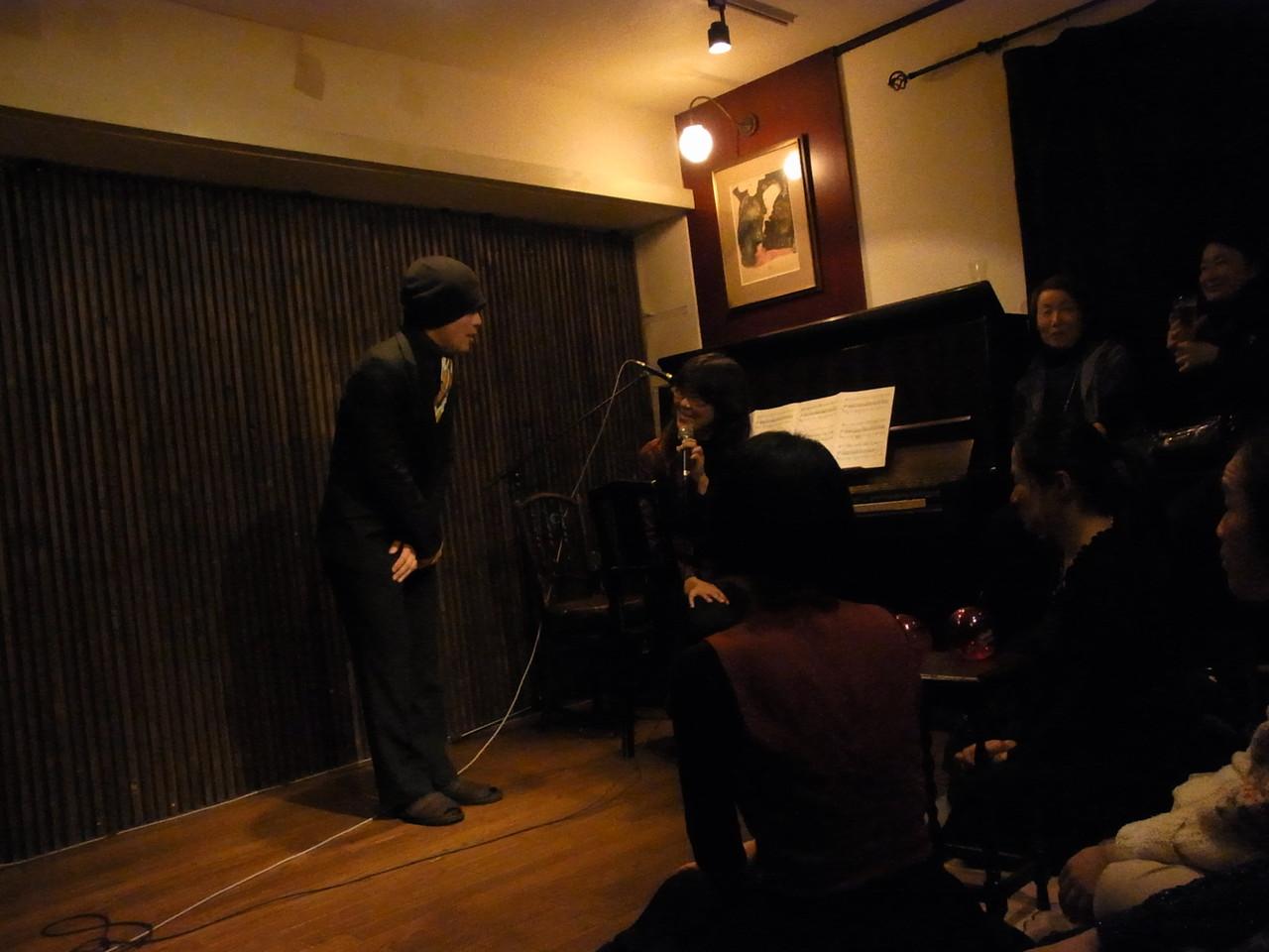 ピアノの池田千夏さんと 「はじめまして~」