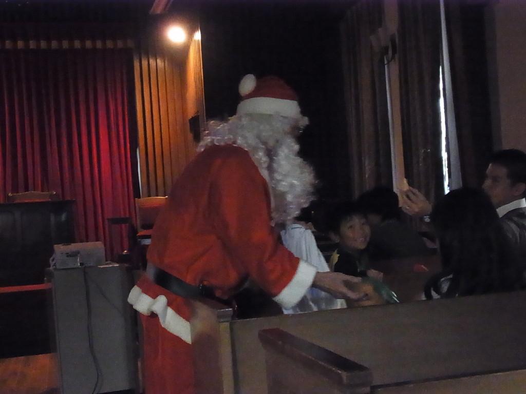 サンタさんだっ!!