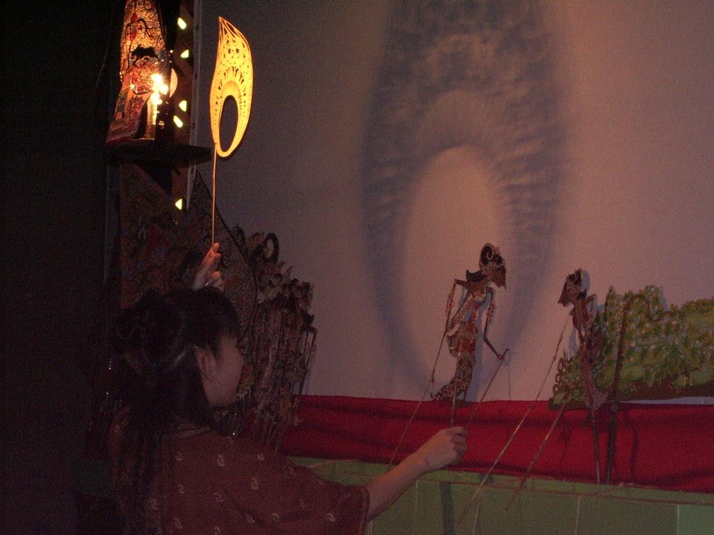 2005年11月 *影絵詩劇 『天人の羽衣』