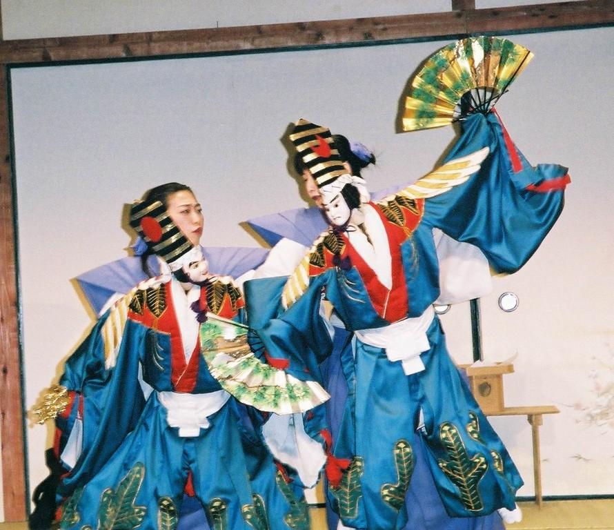 2005年5月*寿式二人三番叟(乙女文楽)