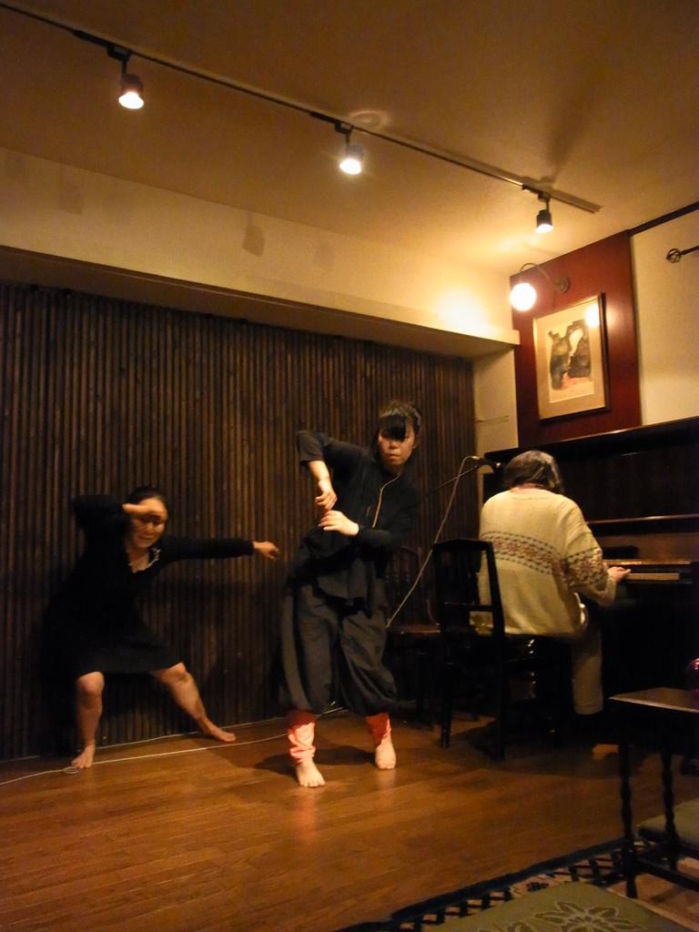 四谷インプロ × ピアノ 加藤千晴氏