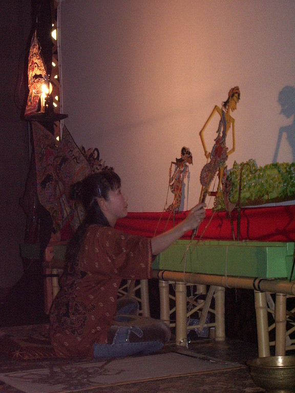 2005年11月 * 影絵詩劇『天人の羽衣』