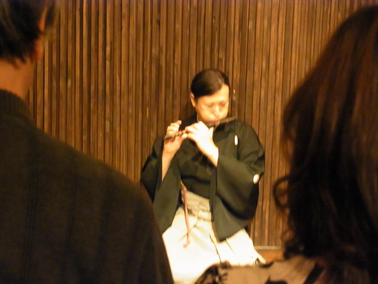 能楽師笛方 寺井宏明さん