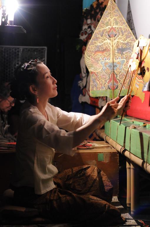 2009年6月 * 徹夜ワヤン 『 プラン・チャキル 』     ※撮影/加藤誠