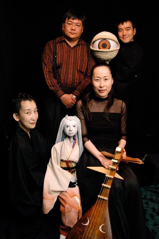 小川未明のお孫さん、小川英晴さんと。