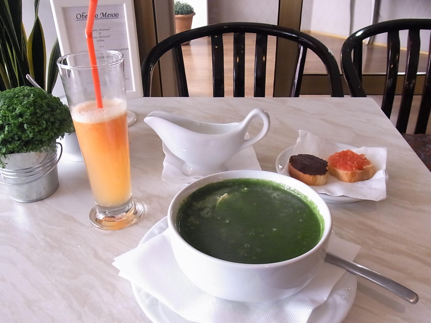 ブルガリア・ヨーグルトをたっぷり入れるスープ
