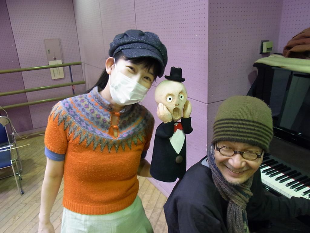 YUKI☆は影絵で客演~。