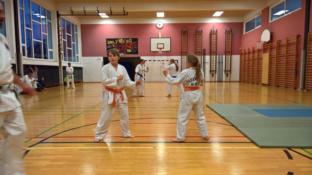 die Geschwister Felix und Lara beim Freikampf