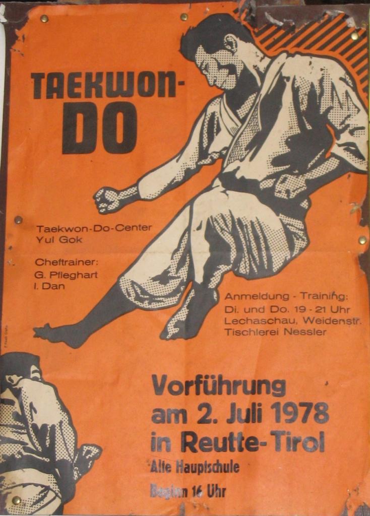 Plakat zur Vorführung