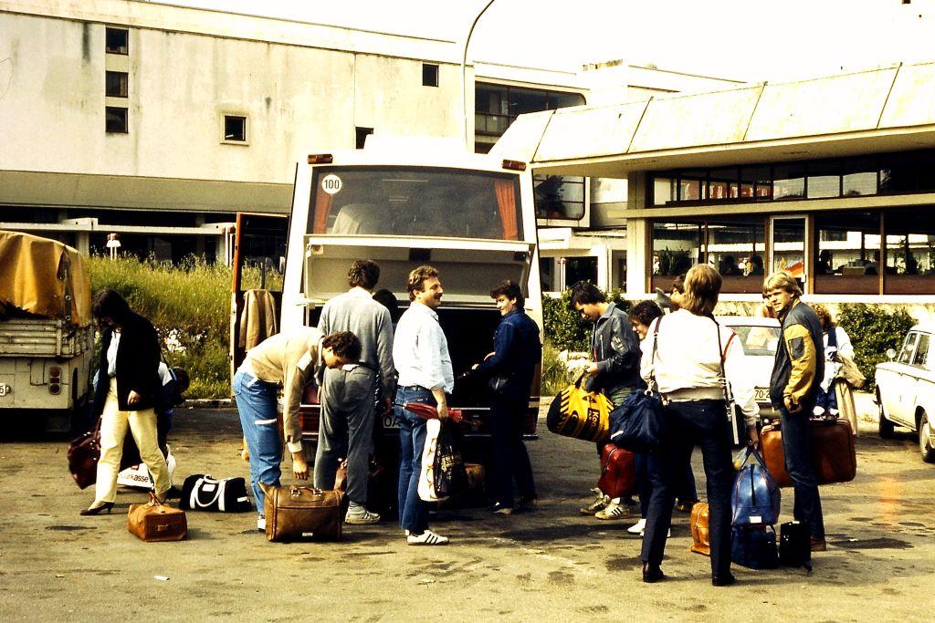 Ankunft nach langer Busfahrt...