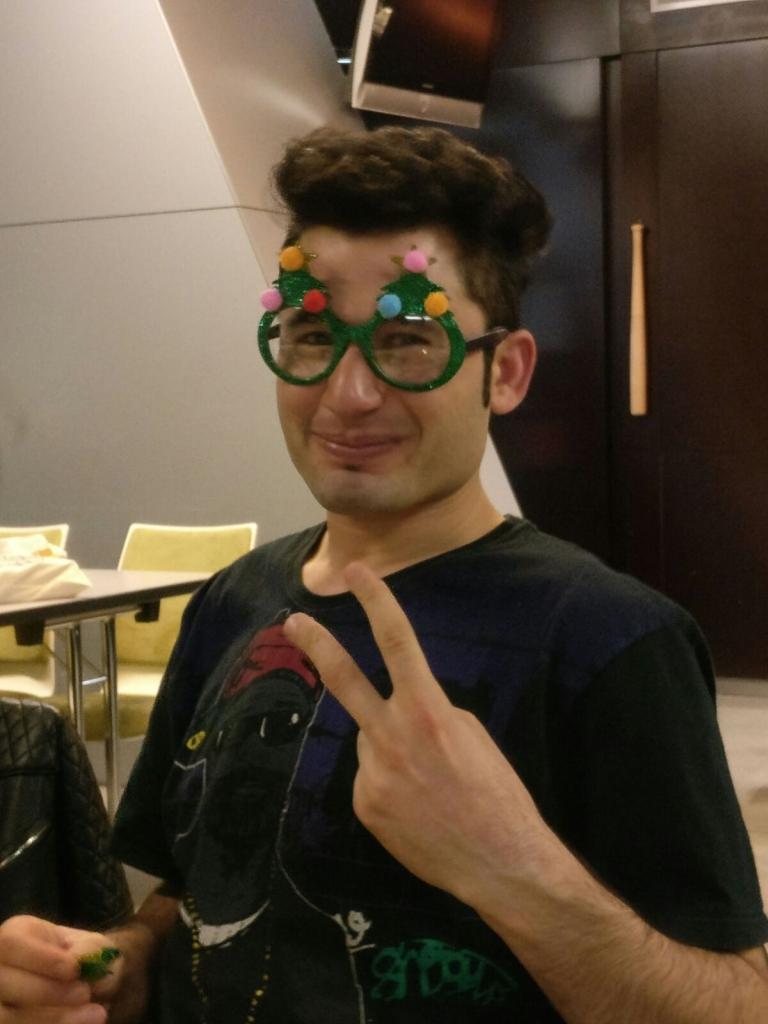 Abid der Weihnachtself ;-)