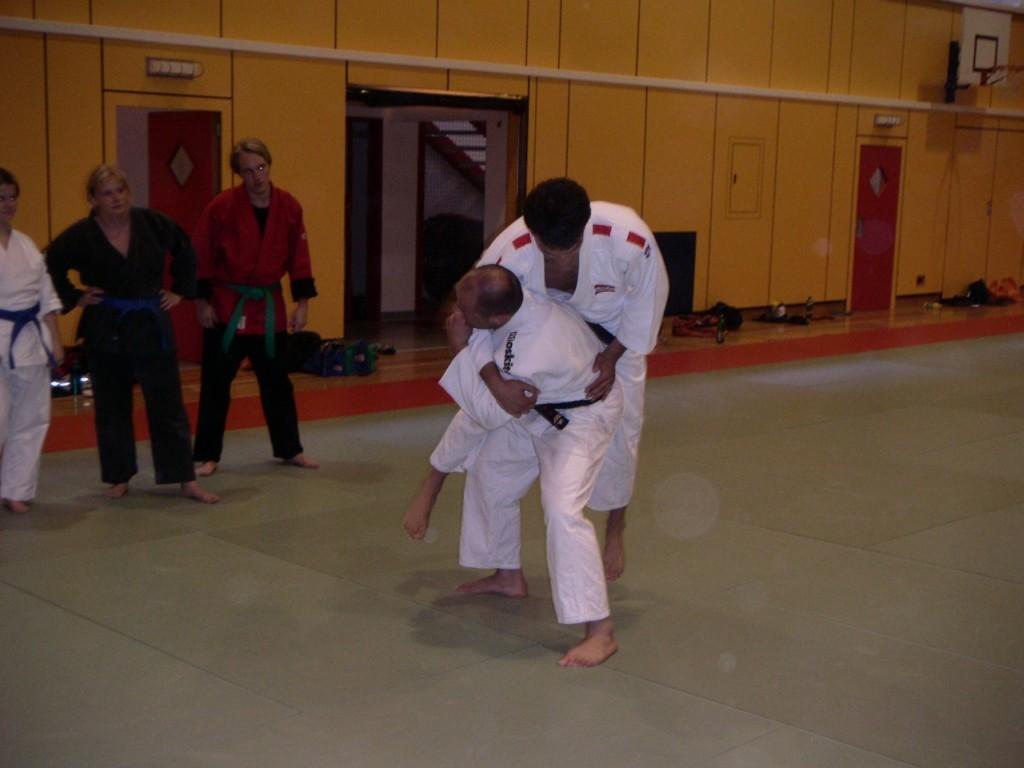 Judokas Roman Jahoda und Taro Netzer