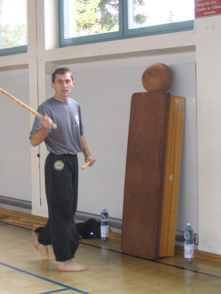 Arnis Full Contact Weltmeister - Michael Hanstein