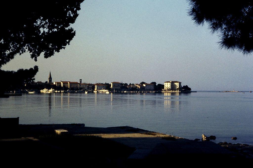 der idyllische Hafen von Opatija
