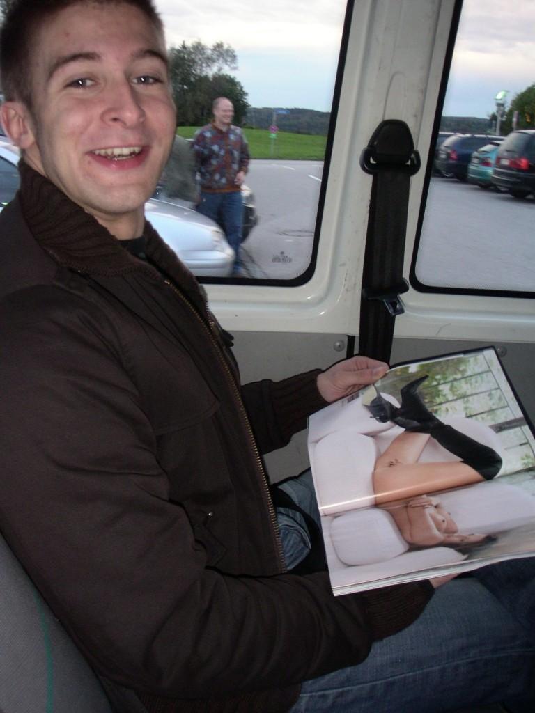 Stefan hat die Artikel bei der Hinfahrt nicht ganz verstanden ;-)