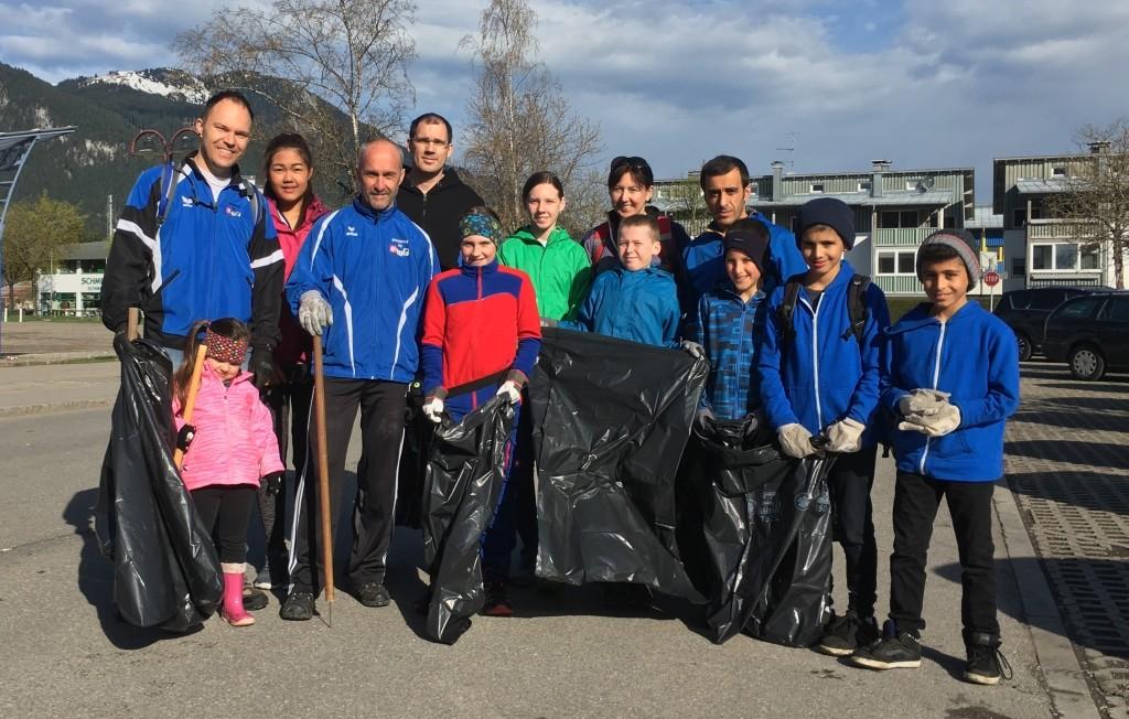 Gruppenfoto (nicht im Bild: Mathias Kapeller & Michi Schmidt)