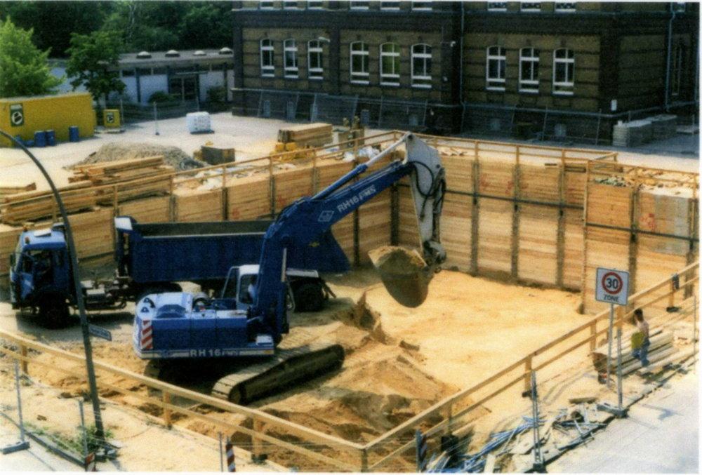 Enstehung des Neubau
