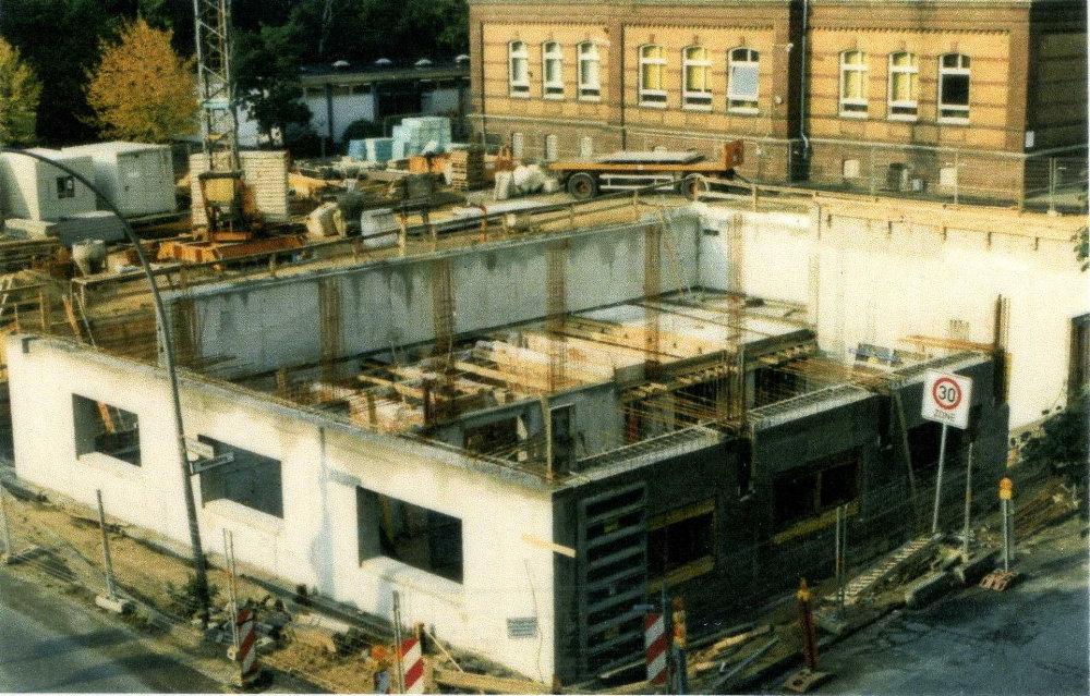 Entstehung des Neubau