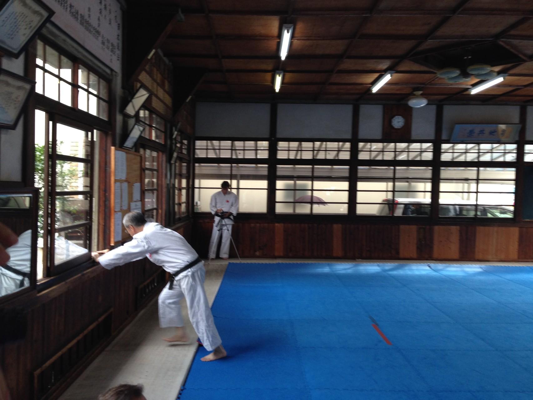 Koyukai Honbu, premier Dojo de Nippon Kempo de Sawayama tenu par la famille Nakano depuis 1952.