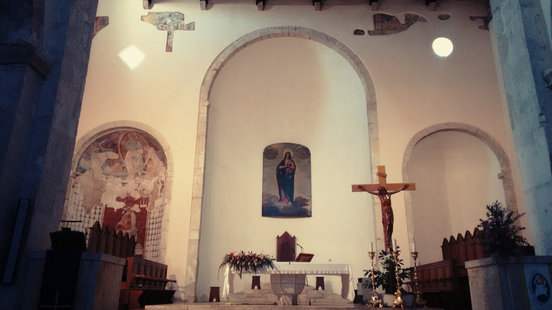 Presbiterio e absidi