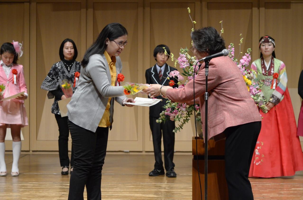 スピーチ大会表彰式