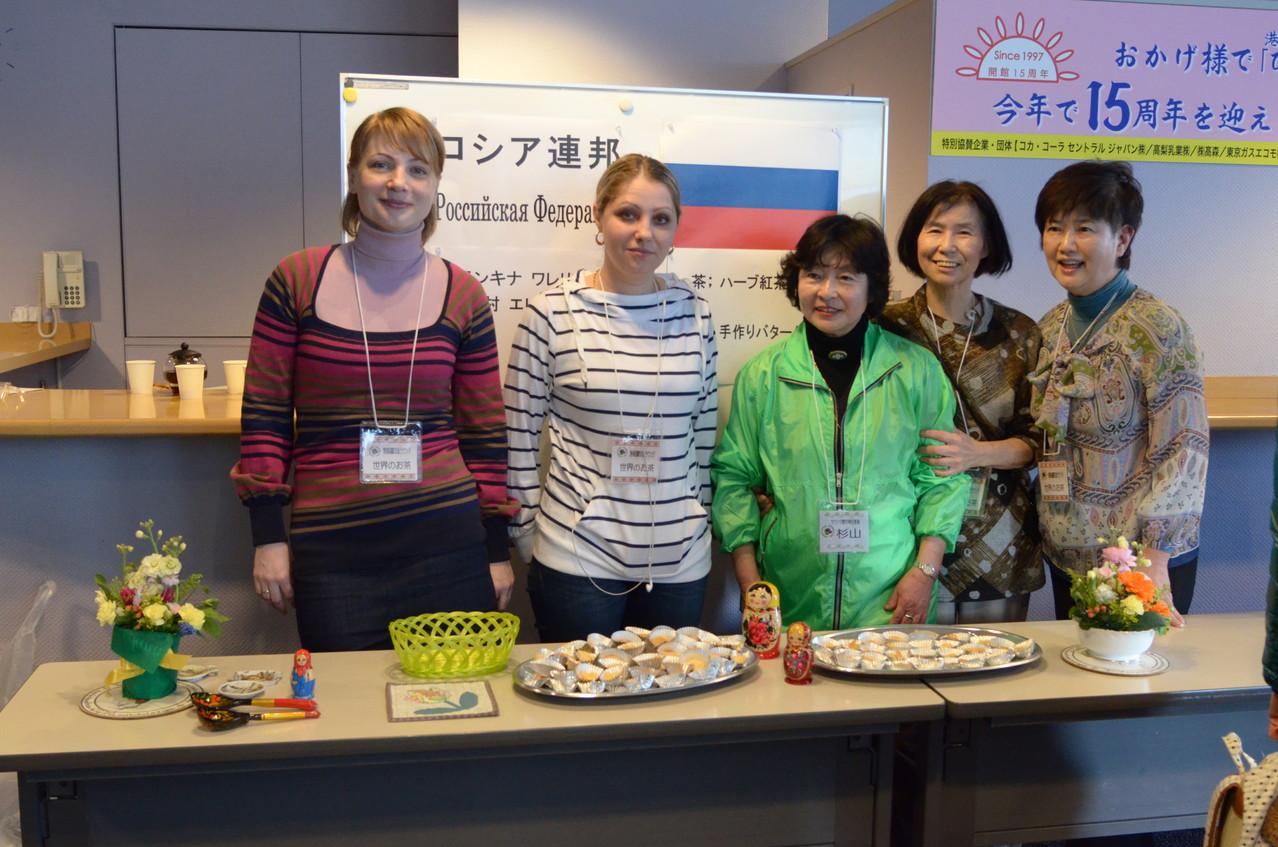 世界のお茶・お菓子 ロシア