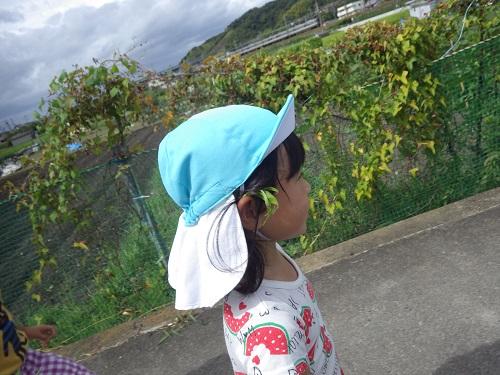 葉っぱの髪飾りでおしゃれ☆(4歳児)