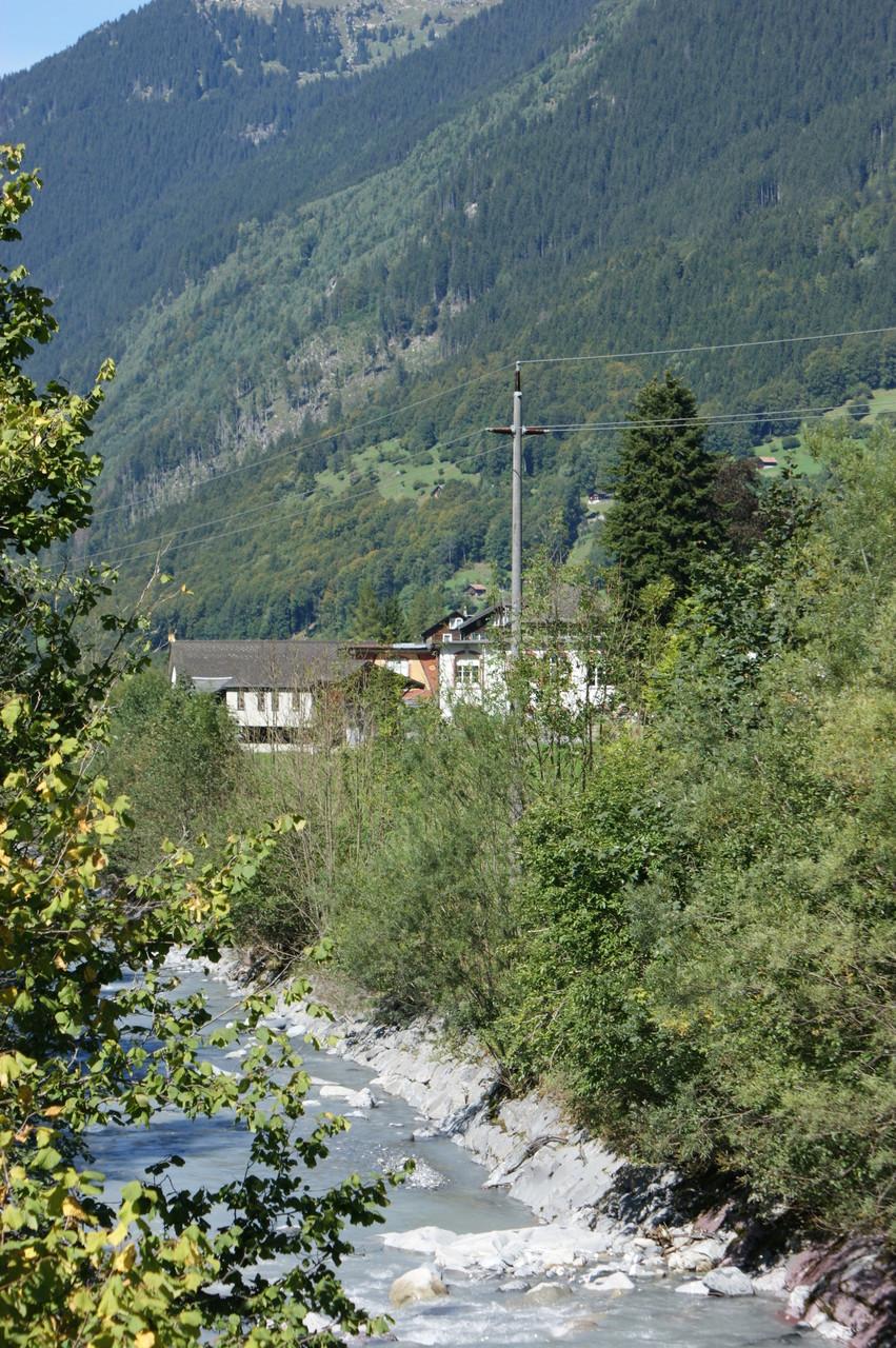 Ansicht Hinterdorf von Süden