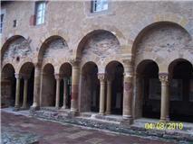 Conques Aveyron  Cloître