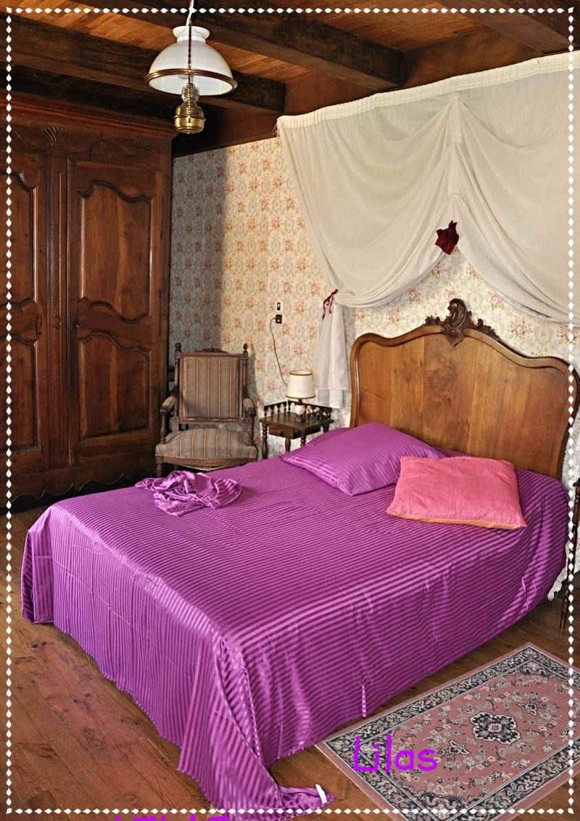 chambre rose romantique