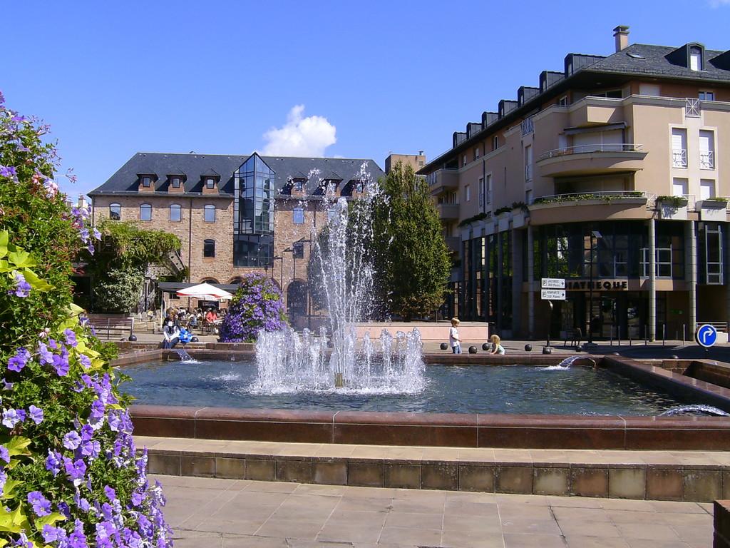RODEZ Aveyron dans le Rouergue