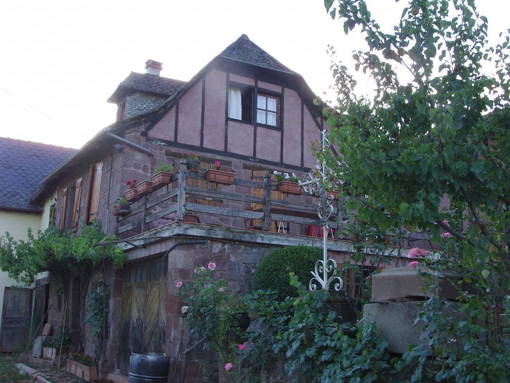 Maison aveyronnaise  près de Conques Rouergue