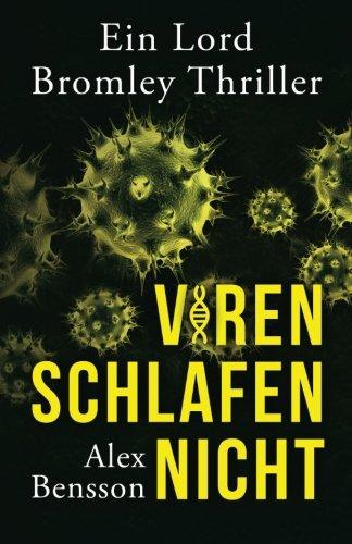 Cover des Buches Viren schlafen nicht von Alex Bensson.