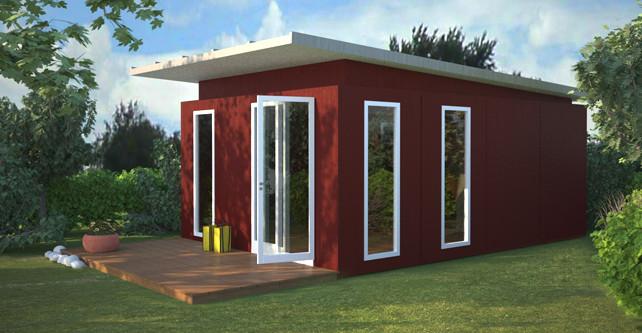 hochwertige gartenlaube schnell gebaut zweithaus gmbh. Black Bedroom Furniture Sets. Home Design Ideas