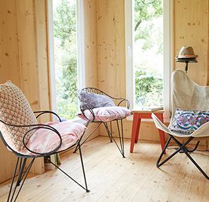 Neues Outdoor Wohnzimmer bei Zweithaus