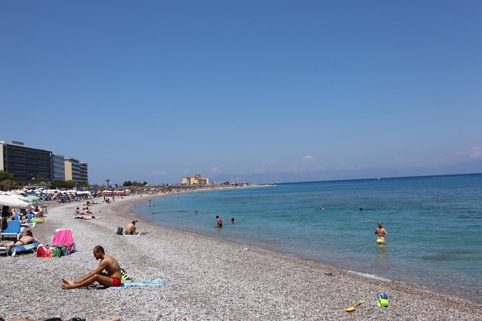 Rhodos Stadt Strand