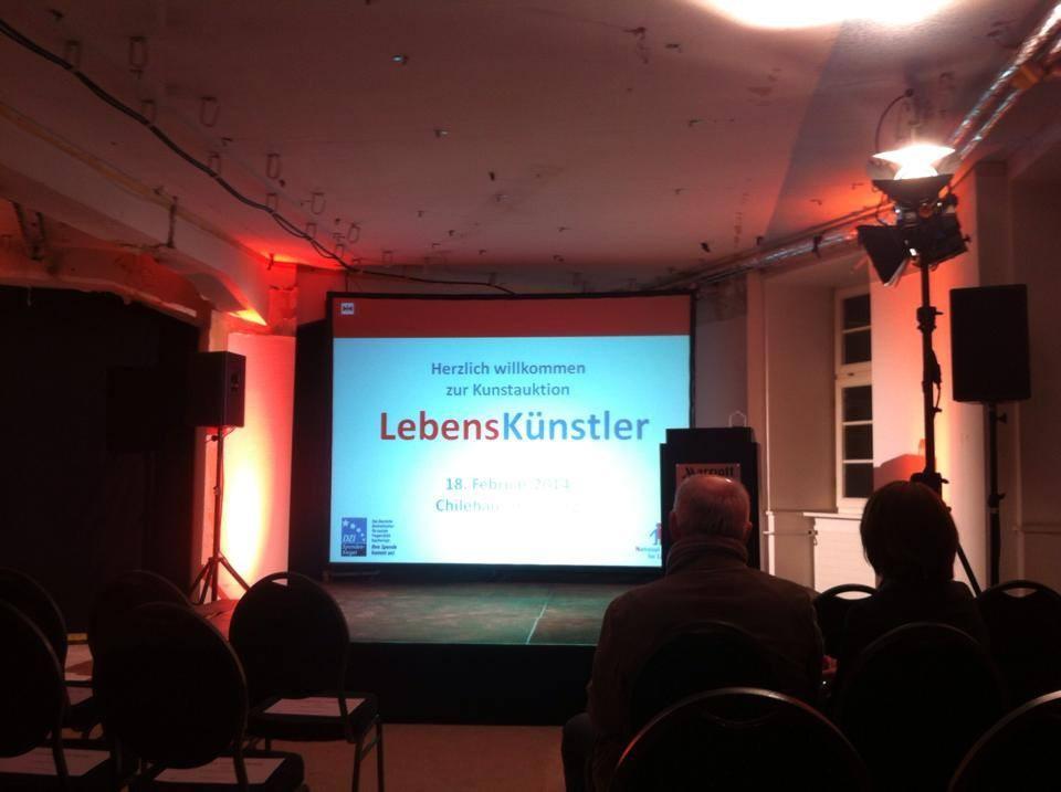 """NCL Stiftung: Versteigerung """"Lebenskünstler"""" im Chilehaus Hamburg 2014"""