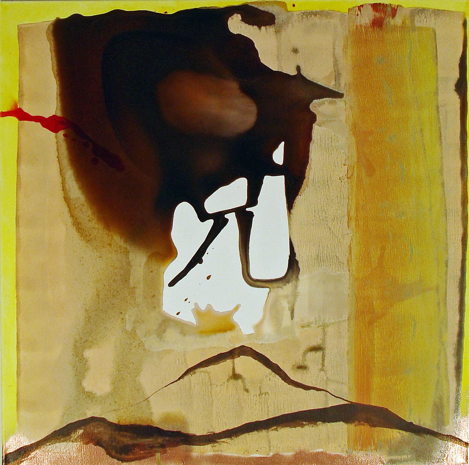 Sian Go / Des Kleinen Übergewicht (62), 2012, Zeichentusche auf Leinwand, 80 x 80 cm, € 387,10 (€ 490.-)