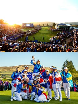 Scotland: Ryder Cup and Solheim Cup at Gleneagles