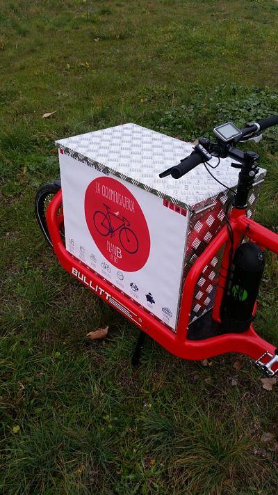 Caja de aluminio Cargo Bike