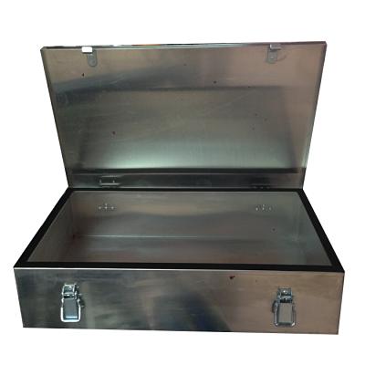 Caja de aluminio lisa