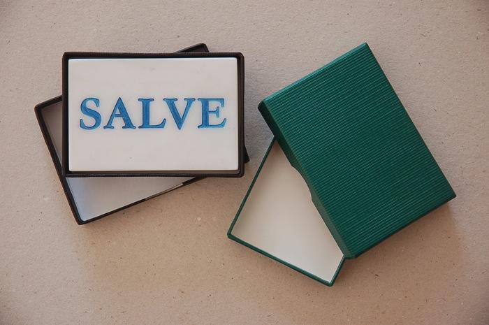Stülpdeckelschachtel für Salve-Stein
