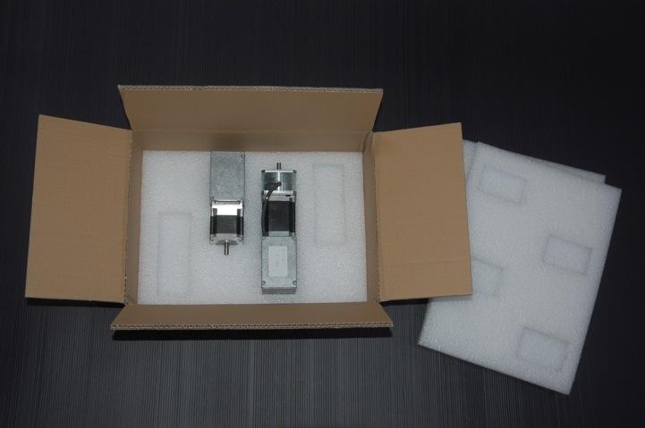 Verpackung für Motoren