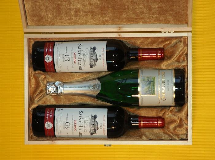 Kiste für Wein