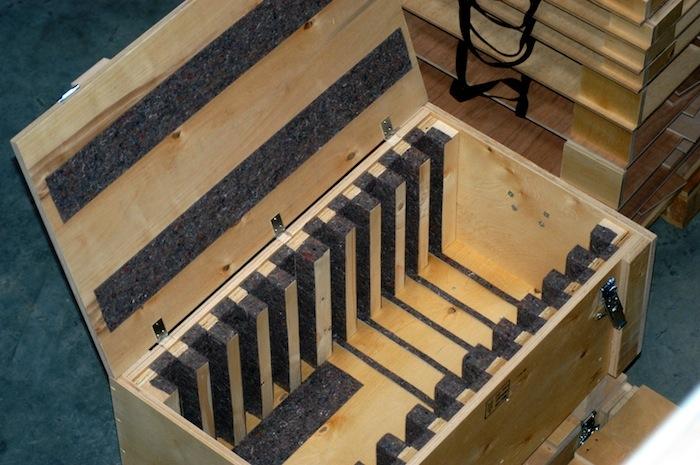 Pendelbehälter für Grund- und Zwischenplatten